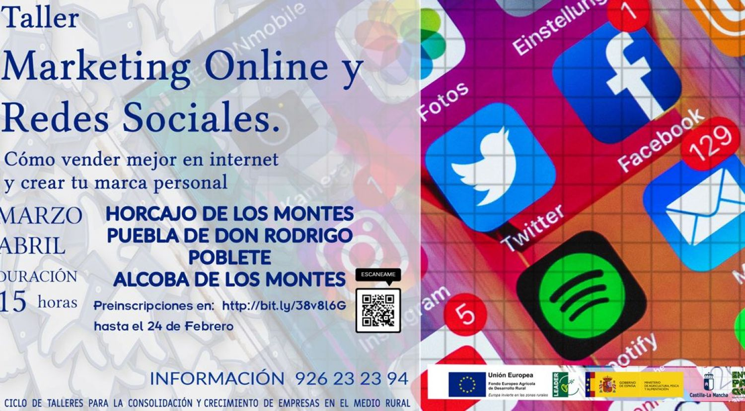 Curso de Marketing online y redes sociales